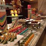 The amazing desserts