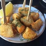 delicious fried halloumi