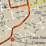 Map of Downtown Puerto Vallarta