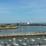 Calais car ferry terminal