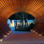 Entrance to The Racha's Club Del Mar Beach Club