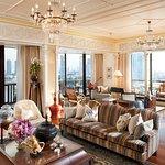 Royal Oriental Suite (Main Living Room )