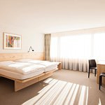 Comfort double bedded room