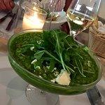 Green risotto!