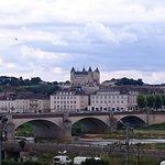 vue sur le château de Saumur
