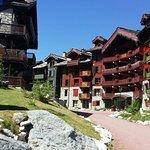 Arc 1950 magnifique petit village hôtel très confortable