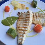Sea Bass - Dinner menu