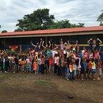 Volunteering with HelpThemHelpThelves.org! Amazing kids!!