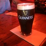 a perfectly poured glass of Guinness