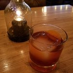Bacon infused Old Fashioned