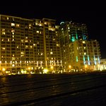 OBC & Oceanaire - night view from beach