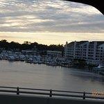 View from Rockafellers table, Virginia Beach, VA