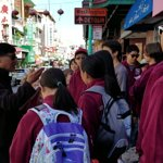 School groups aged 8-24 always come to discover the history of Chinatown