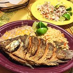 Mojarra Frita! So good!