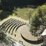 Vista do teatro ao ar livre