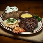 Sirloin and Lobster Tail Combo