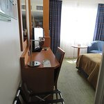Single room- a little squashy but at least they provided a suitcase stand
