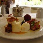 Delicious dessert platter!