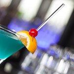 World famous Bigg Blue Martini