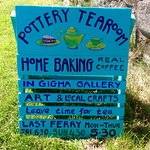 A welcome sign on beautiful Gigha. Don't miss it!