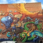 """Cheyenne is known for its """"Old West"""" history, but it is a modern city with a growing mural colle"""