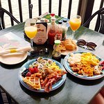 All you can eat and drink brunch buffet!