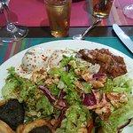 le plat du menu à 17€