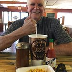 Thumbs up for our favorite BBQ!