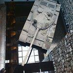 Vista del tanque en el interior