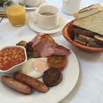 Full Irish Breakfast. Yum!!