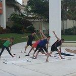 Early Morning Yoga Class