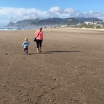 Beach walk at Surftides