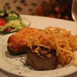 The best steaks and seafood in the area!