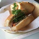 #52, Grilled chicken meat submarine $5.25