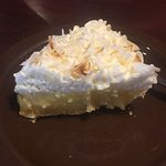 Friendly service. Food was good for the price. Coconut pie was delicious.