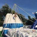 Cape Cod Inflatable Park Foto