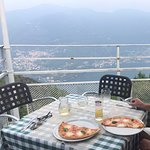 View with our Bufula pizza