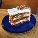 Carrot Cake with Marscopone Frosting - worth the taste!