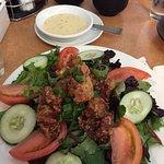 This Korean chicken salad is excellent!