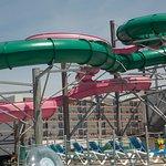 Tubed water slides