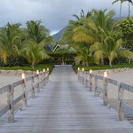 Dock that leads you to Four Seasons - Nevis