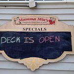 Deck is open!