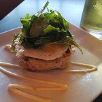 Warm lobster knucle sandwich- butter toasted bread, lobster meat, truffle fried sunny egg $13