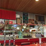 Cute old fashioned soda fountain with yummy food! The banana split was delicious!