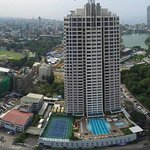 Aerial View of Hilton Colombo Residences