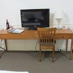Desk & TV