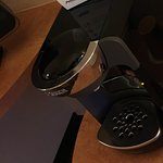 Kaffeemaschine im Zimmer