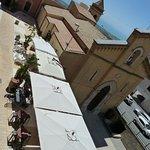 La Dolce Vita - view from balcony Piazzetta San Calogero