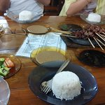 First sate kambing I ever eat at Bandung