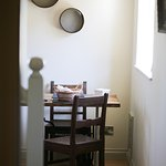 The Hayloft - working/dining table